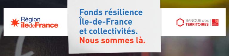 Affichage Fonds Résilience île de France