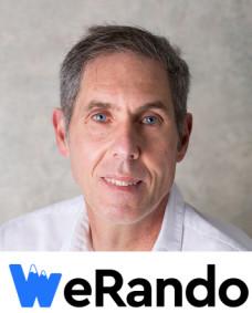 WeRando logo et portrait créateur